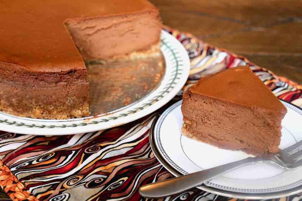 Italian Chocolate Espresso Mousse Cheesecake