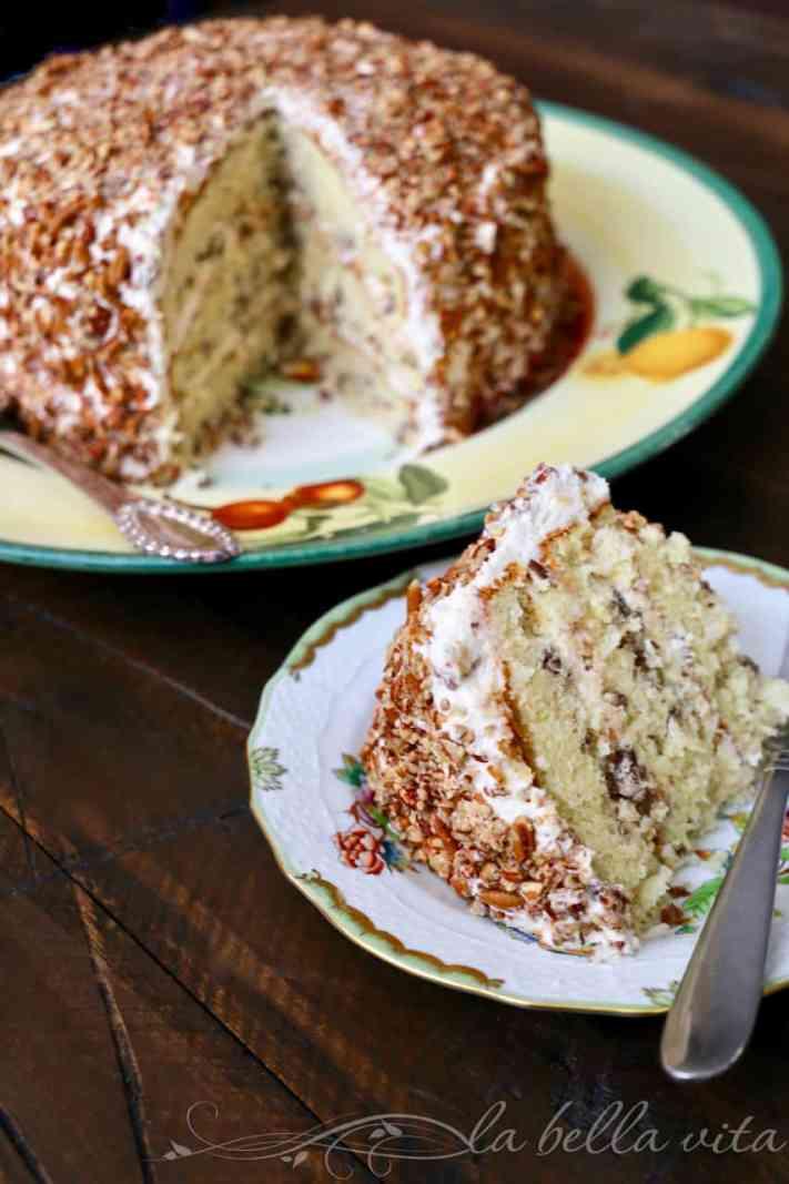 Secrets to BEST Italian Cream Cake | La Bella Vita Cucina