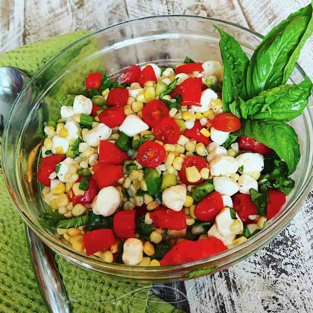 Fresh Summer Corn and Tomato Salad