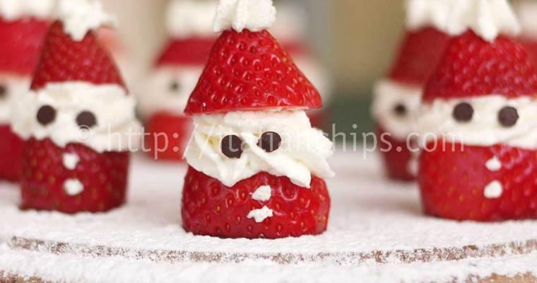 Strawberries and Cream Santa Claus