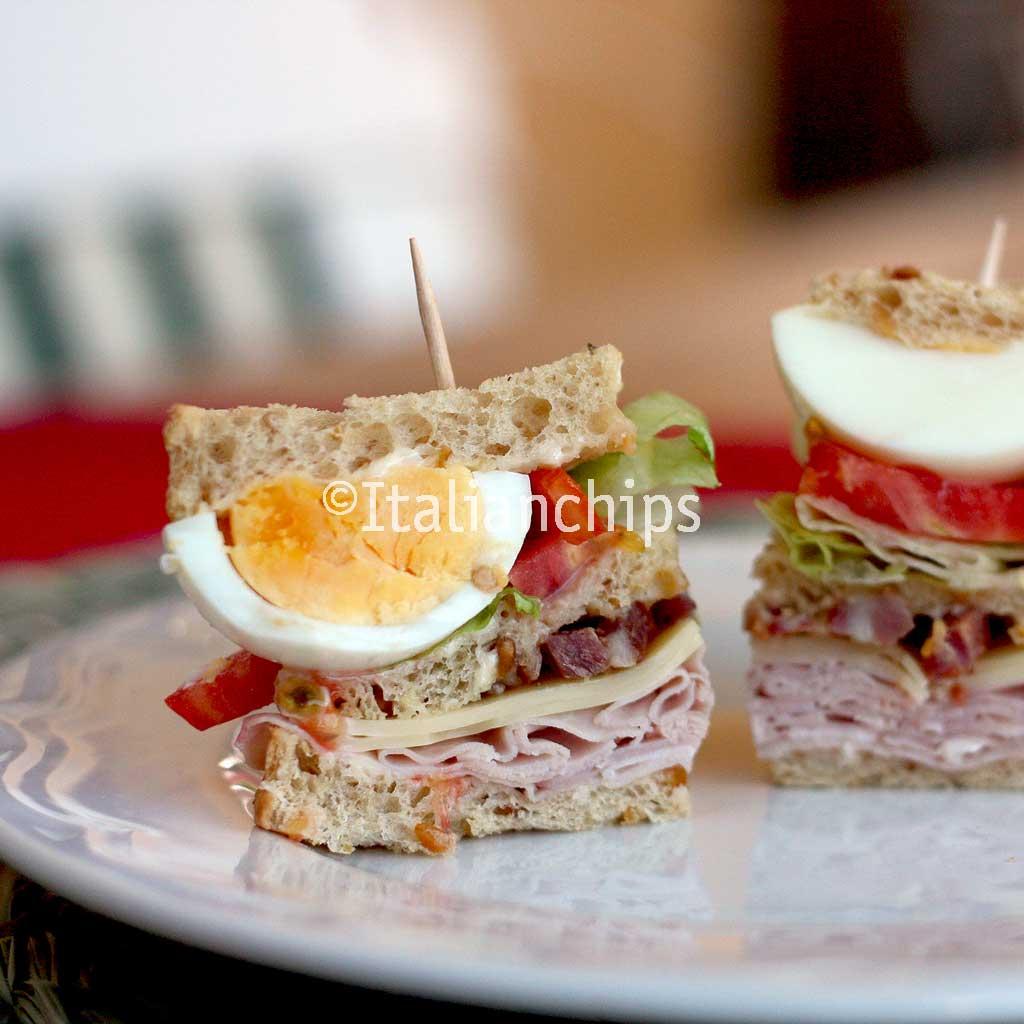 A Delicious Club Sandwich Recipe