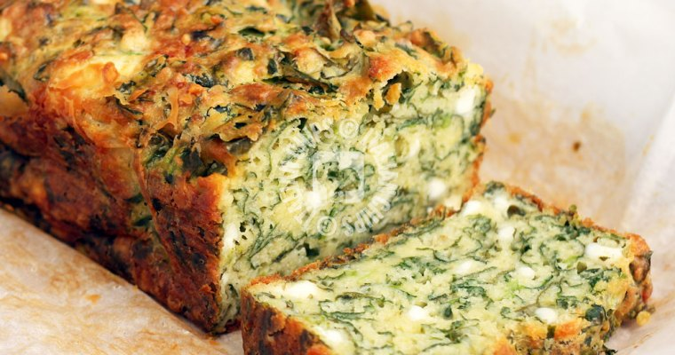 A Super Easy Spinach Cake