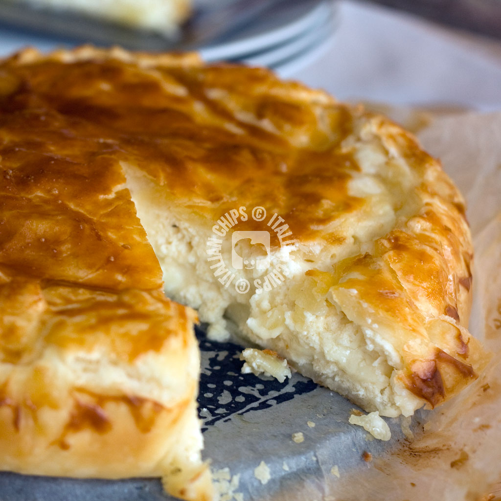 A Cheese Pie To Your Recipes Book