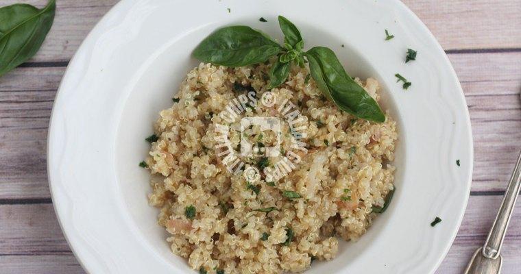 Easy Quinoa Recipe, Healthy and Tasty