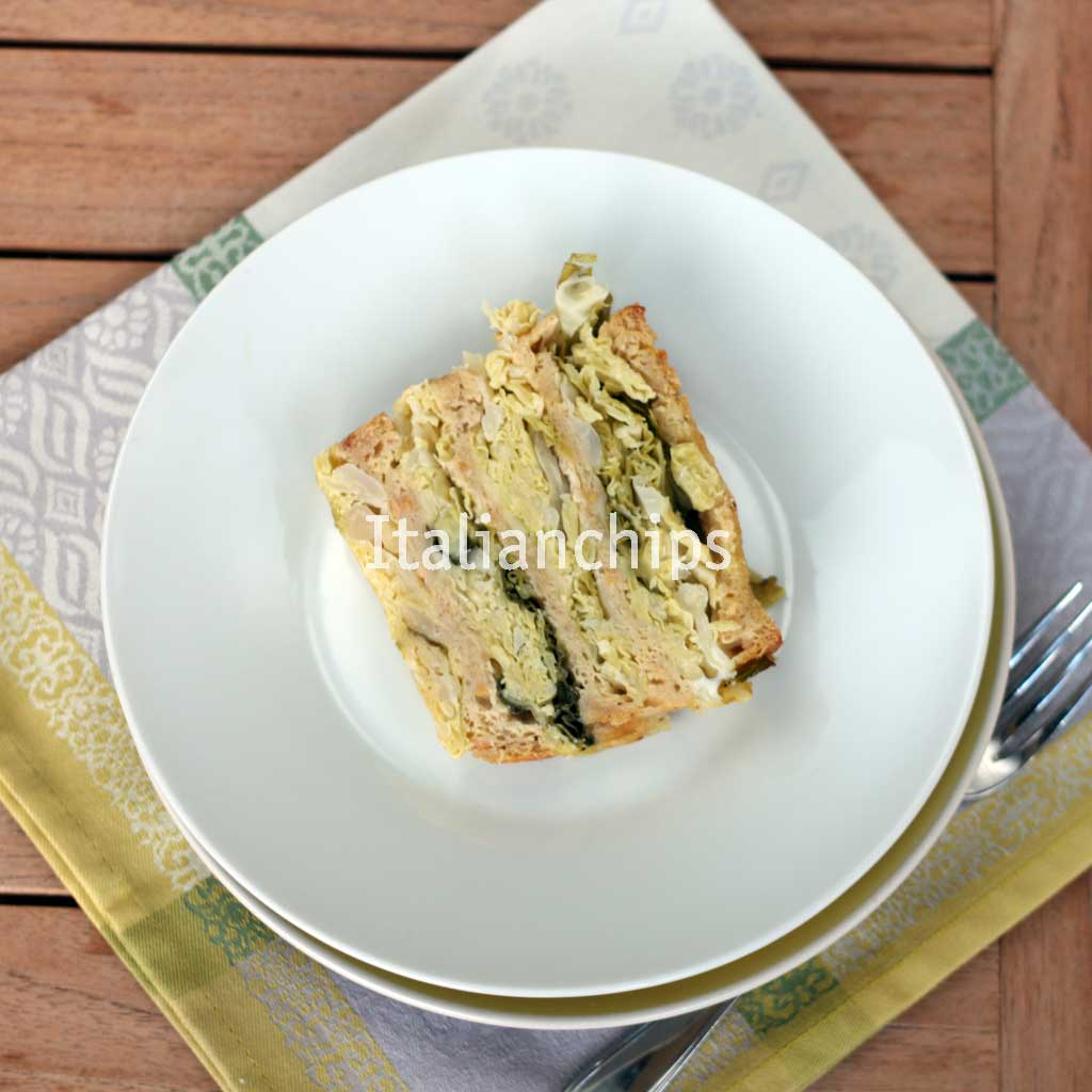 Delicious Savoy Cabbage Cake