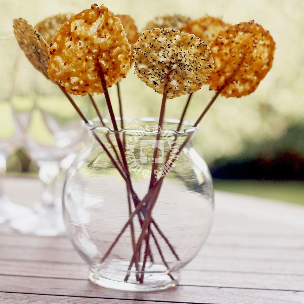Beautiful Cheese Lollipop