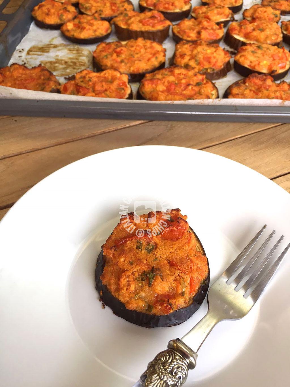 eggplant gratin