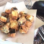 Fried Eggplant Bites