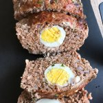 Meatloaf with Egg Inside