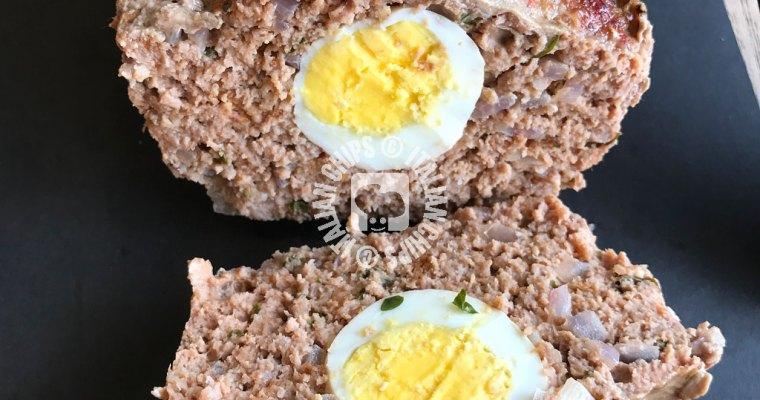 Meatloaf with Egg Inside