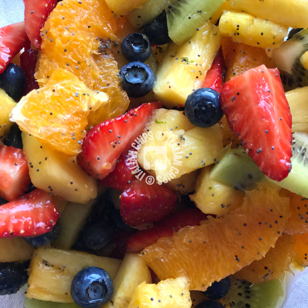 A Refreshing Fruit Salad