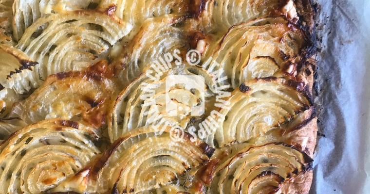 Onion French tart