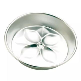 Baking pan flower bottom