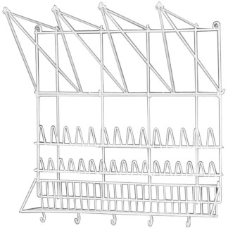 Wall rack for pastry bags