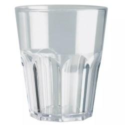 Bicchiere trasparente 6 pezzi