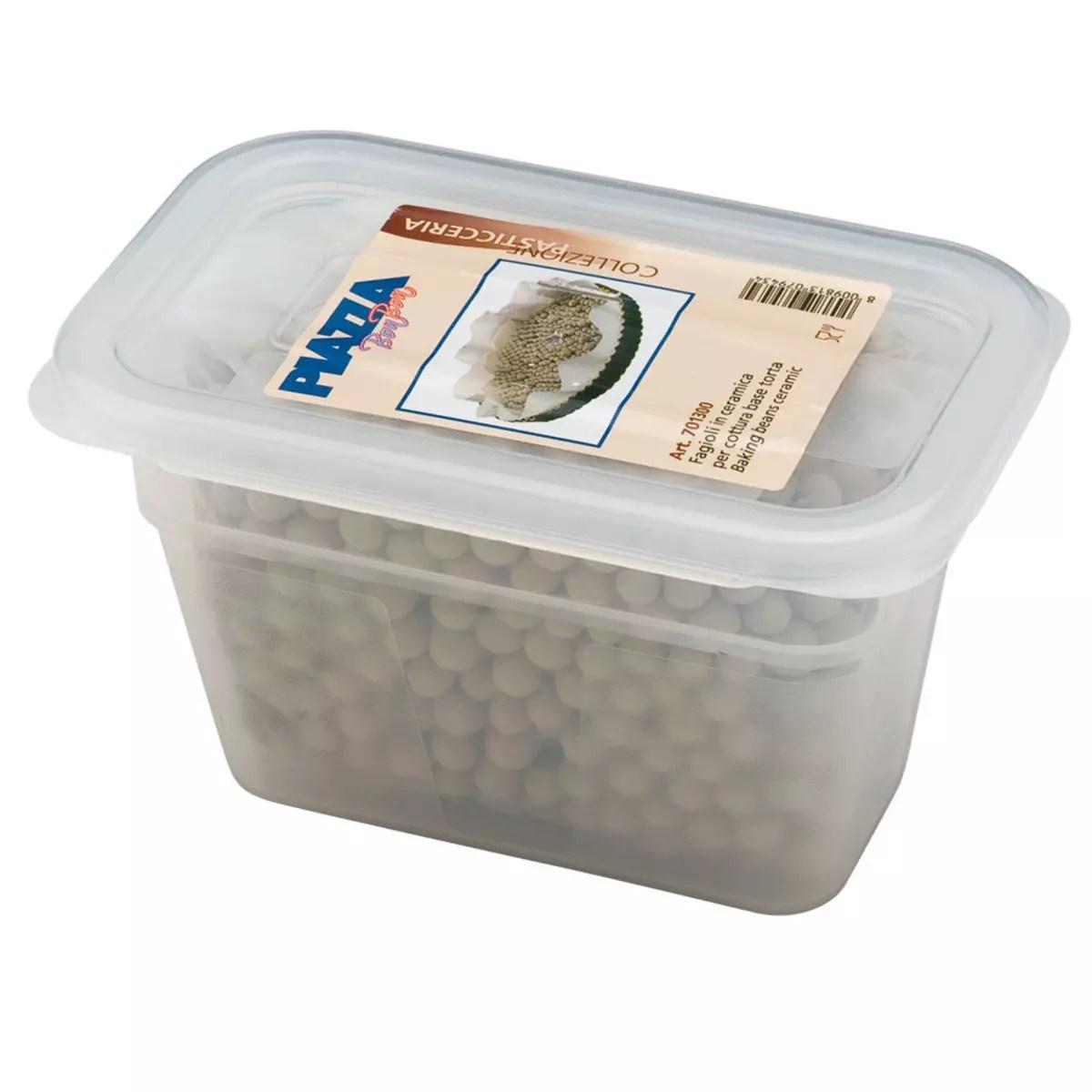 fagioli in ceramica