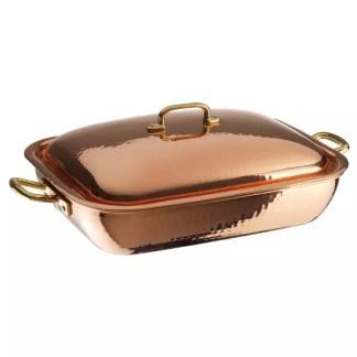 Bake roasting pan copper