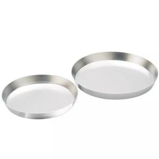 Set 2 low baking pan