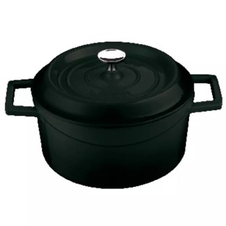 Black saucepot cast iron