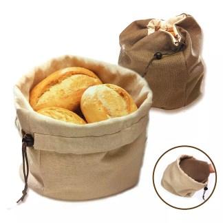 Cesto pane con cuscino riscaldante
