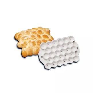 Bread mould hexagonal turtle