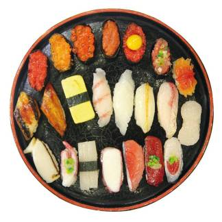 sushi serving dish