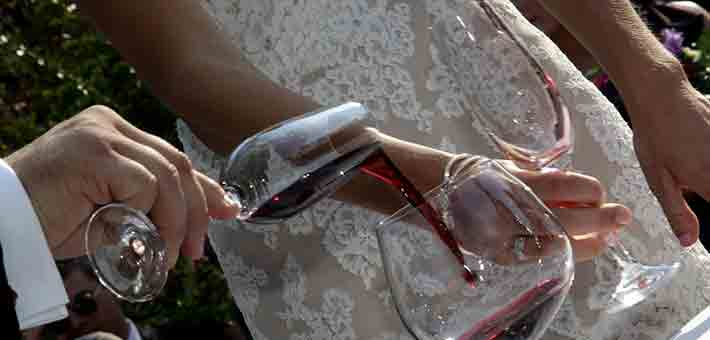 wine themed wedding in Langhe