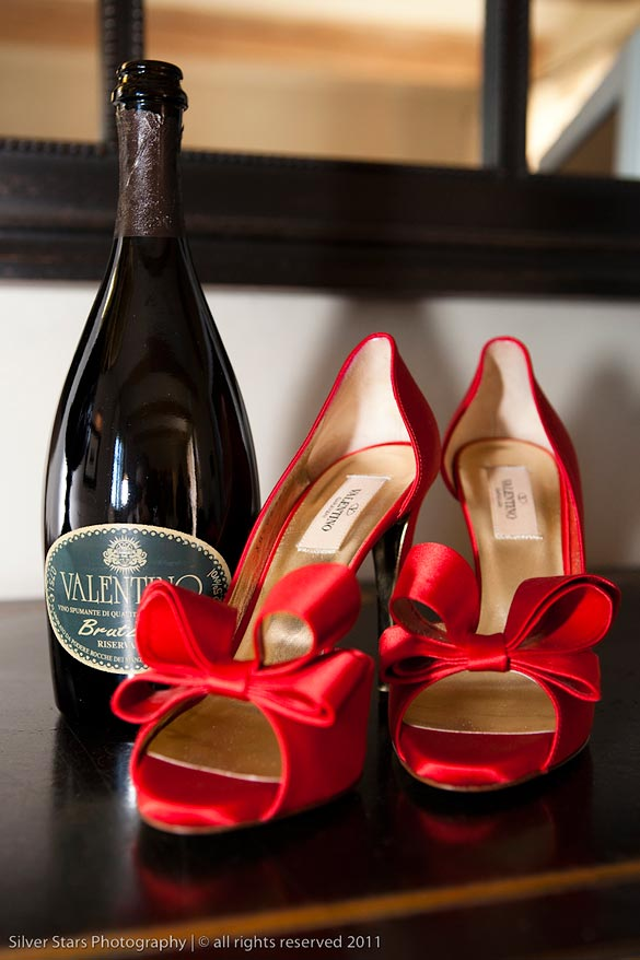 red Valentino shoes wedding
