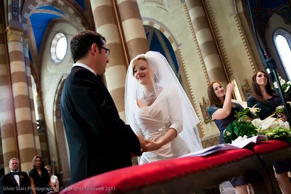 wedding in Duomo di Alba