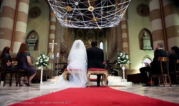 catholic ceremony in Duomo di Alba