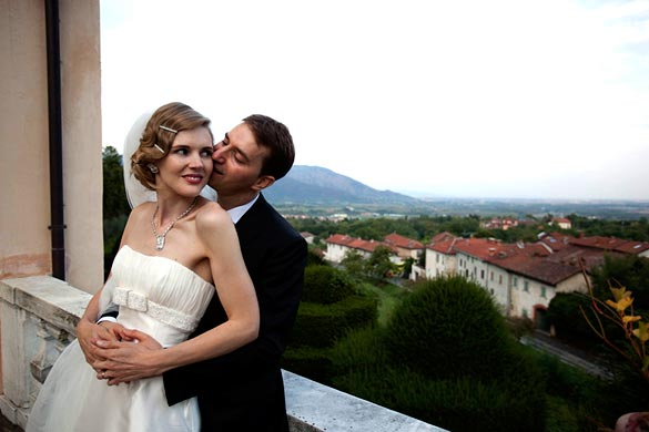wedding in Cumiana castle