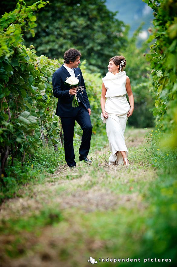 wine country wedding in Italy