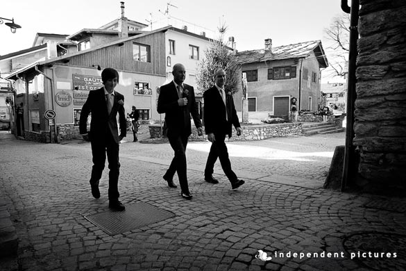 civil wedding ceremony in Sauze d'Oulx Italy