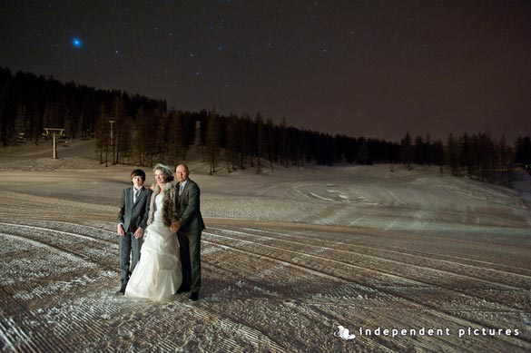 winter wedding in Piemonte