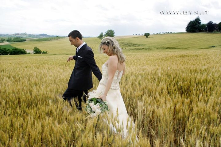 country wedding in Monferrato hills
