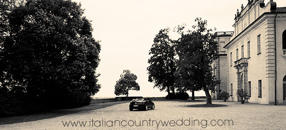 castle wedding in Piemonte countryside