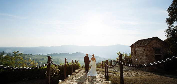 A remote destination for a unique rustic wedding