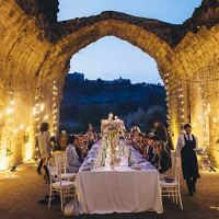 A magic wedding in Orvieto, Umbria Countryside