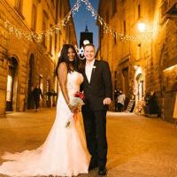 Winter romantic elope in Orvieto