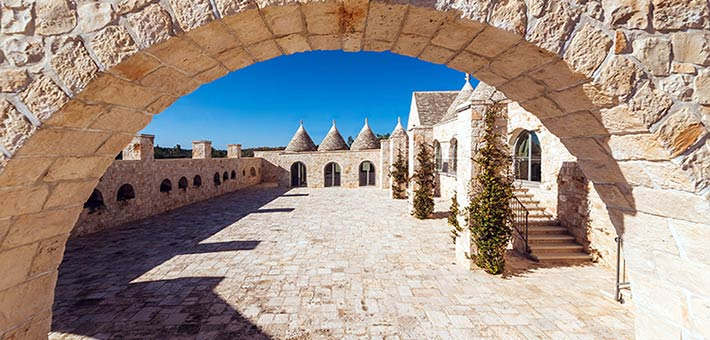Farmhouses, castles, beaches and ancient olive groves  for your wedding in Apulia
