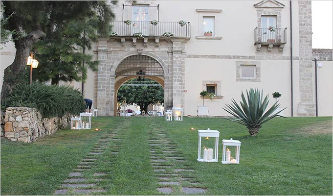 Sicily country wedding Camemi Castle
