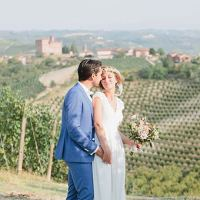 Boho-Chic Wedding on Langhe Vineyards - Piemonte Countryside