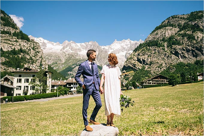 wedding in Courmayeur