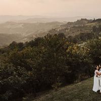 A White Country Chic wedding on top of Langhe hills - Piemonte Countryside