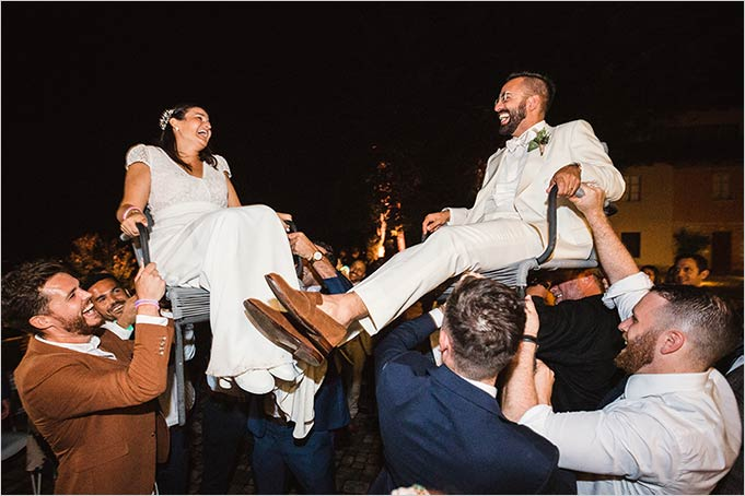 Jewish wedding in Piemonte countryside