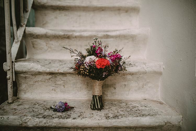 bridal bouquet in Martina Franca, Apulia