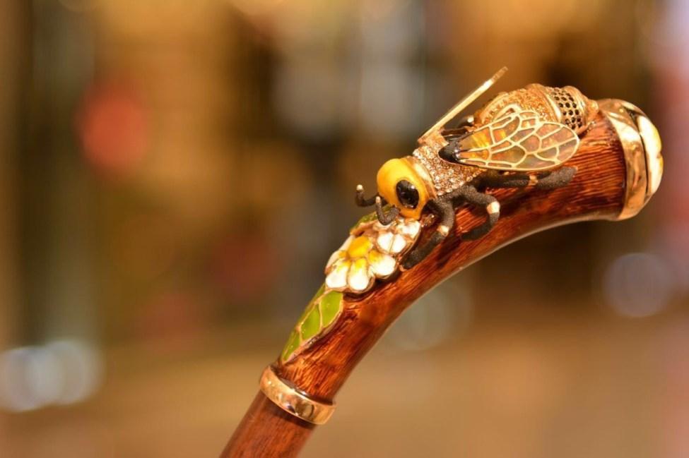 Ombrelli Pasotti dettaglio dell'ape