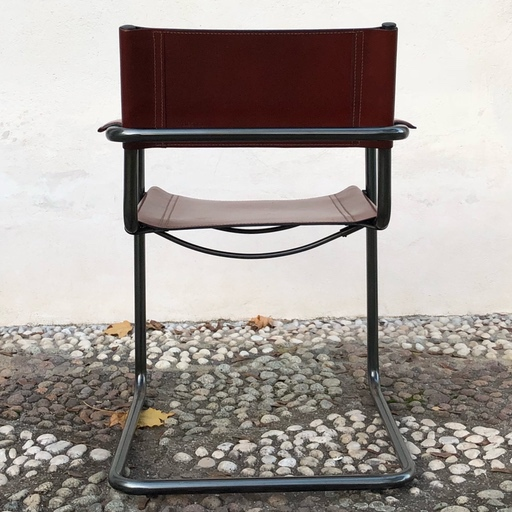Groovy Matteo Grassi Bauhaus Leather Mg5 Dining Chairs By Mart Stam Cjindustries Chair Design For Home Cjindustriesco
