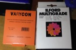 Filtri multigrade Varycon e Ilford