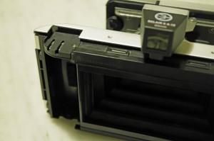 La mascherina installata nella camera pellicola